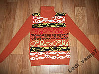 Теплый свитер р.42-44