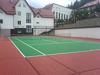 Наливные резинове покрытия для спортивных площадок, стадионов, беговых дорожек