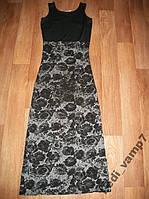Платье длинное летнее р. 42-44