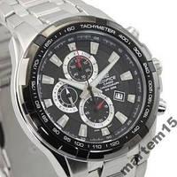 Мужские часы CASIO EF-539D-1A +Подарок! Гарантия