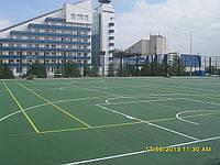 Наливные покрытия для спортивных  площадок