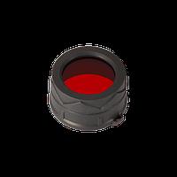 Диффузор фильтр для фонарей Nitecore NFR34 (34mm), красный