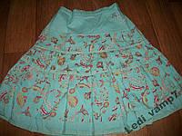 Летняя юбка хлопок