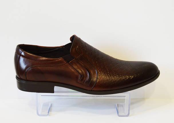 Коричневые мужские туфли Tapi 5371, фото 2