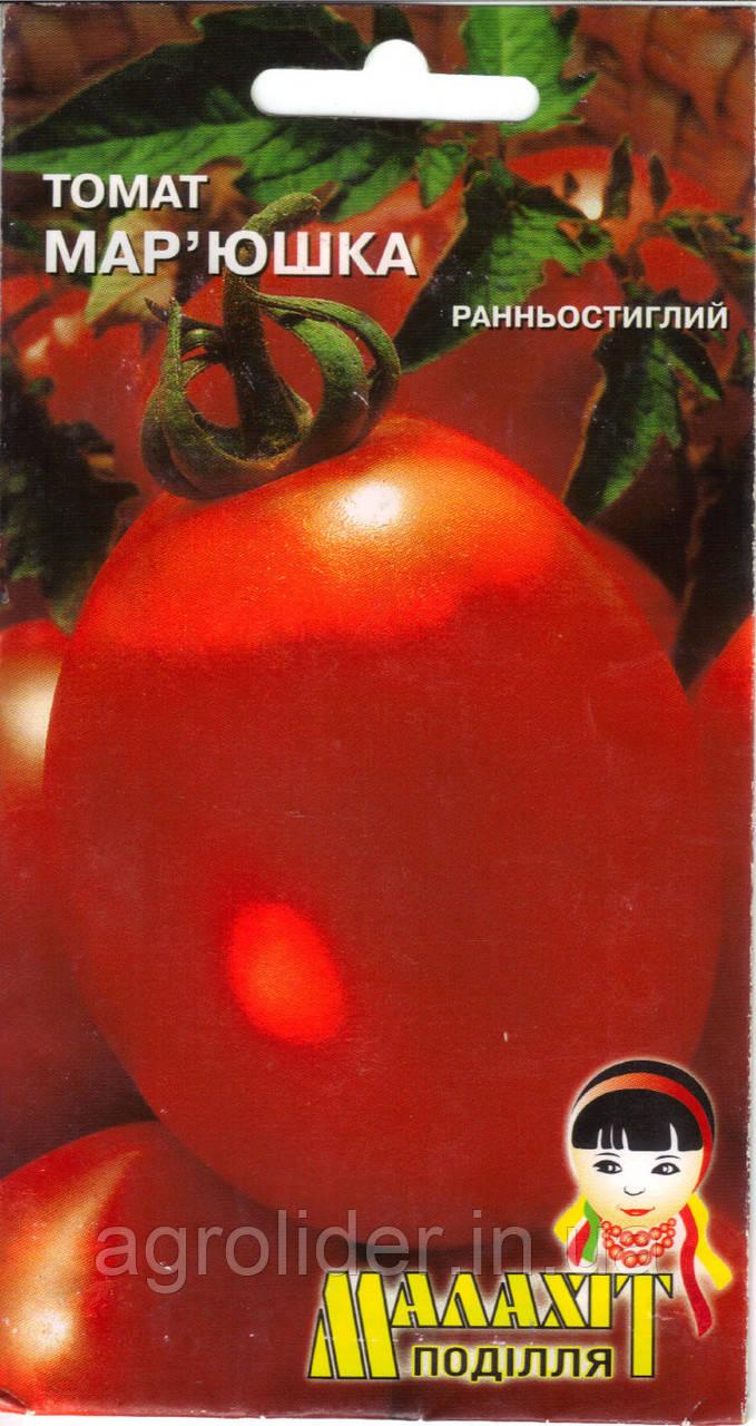 Семена томат Марьюшка 0.1г Красный (Малахiт Подiлля)