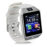 Умные часы. Смарт часы Smart Watch DZ09 для Android и iOS. Белый. 4 цвета