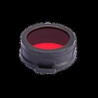 Диффузор фильтр для фонарей Nitecore NFR60 (60mm), красный