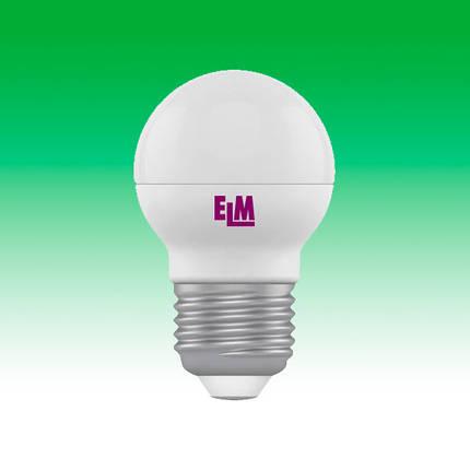 Светодиодная лампа LED 5W 4000K E27 ELM D45 (18-0019), фото 2