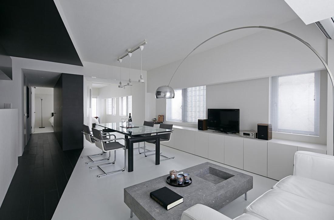 Стиль минимализм в интерьере квартиры Строительство Коттеджей, Домов в Украине