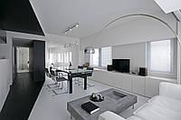 Стиль минимализм в интерьере квартиры № 28