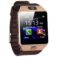 Умные часы. Смарт часы Smart Watch DZ09 для Android и iOS. Золотой. 4 цвета