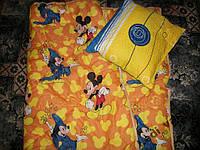 Одеяло с подушкой детское Микки Маус 110х140