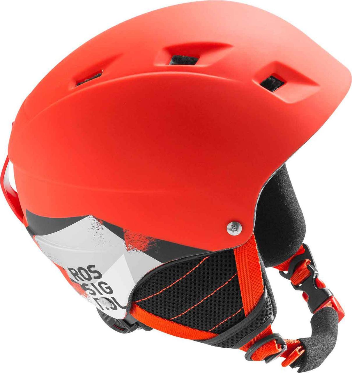Горнолыжный шлем подростковый Rossignol Comp J RED-LED (MD)