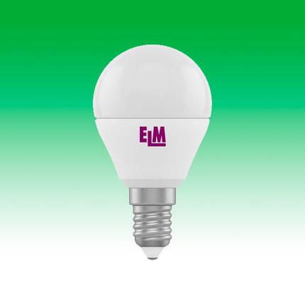 Светодиодная лампа LED 6W 4000K E14 ELM D45 (18-0014), фото 2