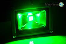 Светодиодный прожектор зелёный (50 Вт)