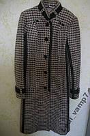 Теплое демисезонное пальто