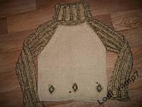 Теплый свитер женский р.46