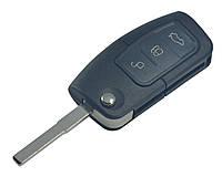 Заготовка FORD выкидной ключ 3 кнопки (корпус)