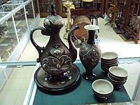 Сервиз керамика ручная работа авторский В.Ильчев