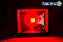 Светодиодный прожектор красный (30 Вт)
