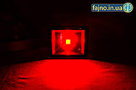 ЛЕД прожектор красный (50 Вт, ip 65)
