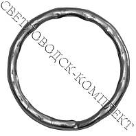 Кольцо для ключей рифлёное, d=25 мм, фото 1