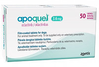 Апоквель (Apoquel) 3,6мг, 50 таблеток, Zoetis, фото 1