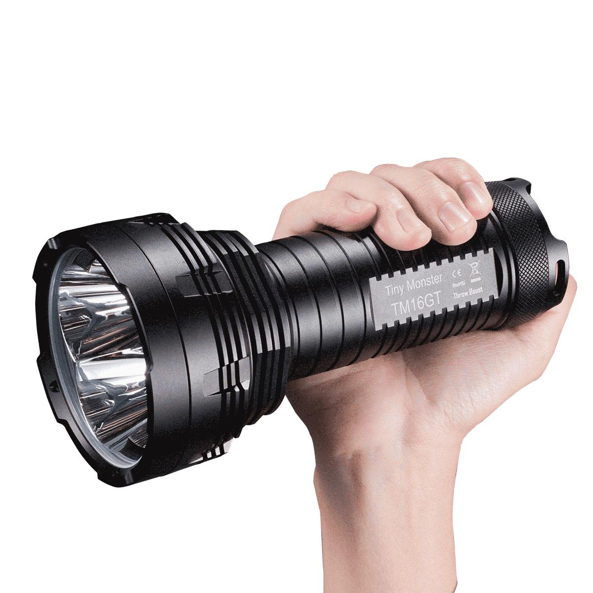 Фонарь Nitecore TM16GT (4xСree XP-L HI V3 3600 люмен, 8 режимов, 4х186