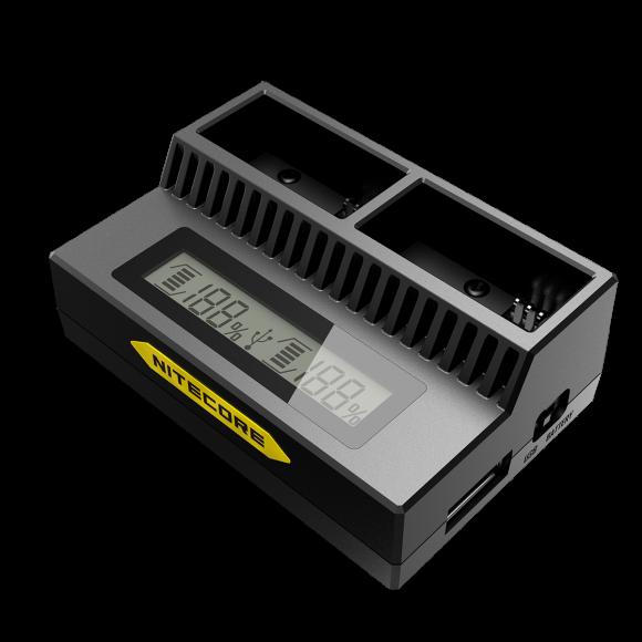 Зарядное устройство Nitecore UGP3 для GoPro Hero 3 (AHDBT- 302/301/201