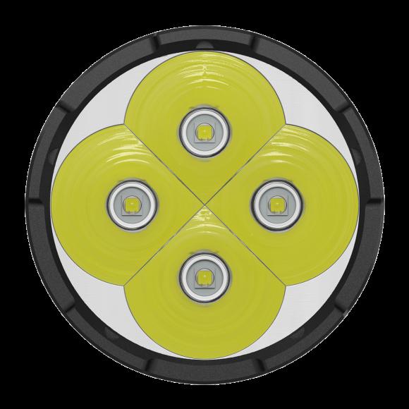 Фонарь Nitecore TM16 (4xСree XM-L2, 4000 люмен, 8 режимов, 4х18650)