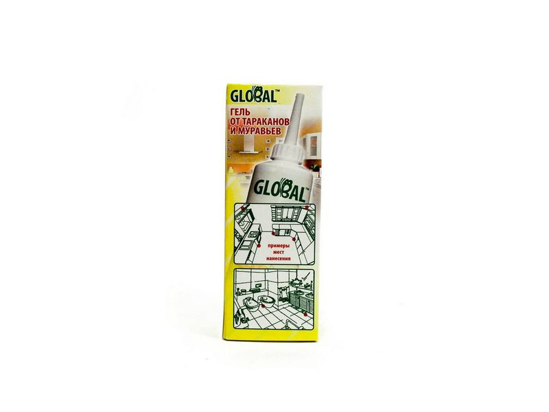 GLOBAL от тараканов и муравьев 60 г