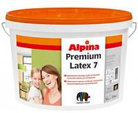 Alpina Premiumlatex 7 4,7 литра Шелковисто-матовая латексная краска прозрачная