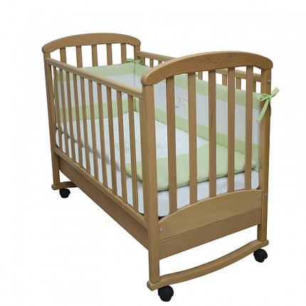 Детская кроватка Верес Соня ЛД9 бук/резьба/воздушная змей, фото 2