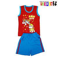 Комплект для мальчиков футболка и шорты с карманами, фото 1