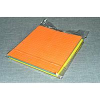 Салфетки для уборки резиновые влаговпитывающие 3шт Pak-48