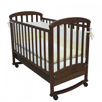 Детская кроватка Верес Соня ЛД9 орех, фото 2