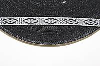 ТЖ 10мм (50м) белый+черный, фото 1