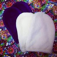Варежки для парафинотерапии рук. Цвета в ассортименте. Махра