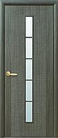 """Дверь межкомнатная """"Дюна"""" Grey - стекло сатин (Новый стиль)"""