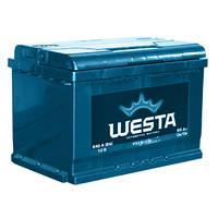 Аккумулятор Westa 6СТ- 65 АзЕ 65Аh 12v