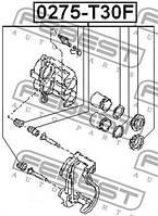 Ремкомплект переднего тормозного суппорта FEBEST