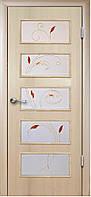 Двери межкомнатные Новый стиль Ева дуб жемчужный ПО+Р2