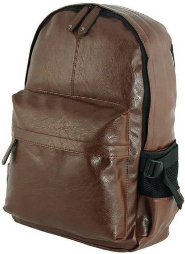 Модный рюкзак из искусственной кожи 15 л. Traum 7175-02, коричневый