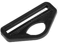 Полукольцо 50 мм пластик, цв. чёрный, арт. ПК-5004, фото 1