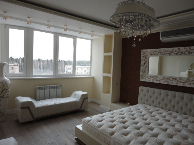 Проект спальни № 34