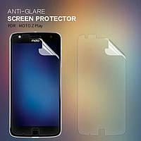Защитная пленка Nillkin для Motorola Moto Z Play матовая