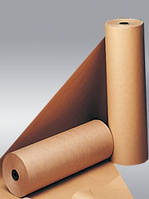 Упаковочная крафт-бумага 65-70 г/кв.м в рулонах 120 пог. м