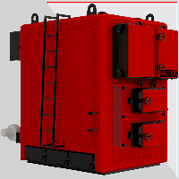 Альтеп KT-3ENmega 1000 кВт. Промышленный котел на твердом топливе.