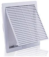 Решетка вентиляционная с фильтром 260х260 IP54 вентрешетка в щит ящик шкаф без вентилятора цена купить