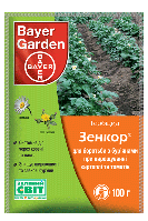 Гербицид Зенкор 70 WG 100 мл, Bayer (Байэр)